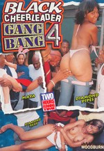 black cheerleader gang bang #4