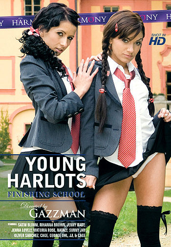 9907frontbig Neck Corsets   Download Young Harlots Finishing School LatexMovies : Latex Videos